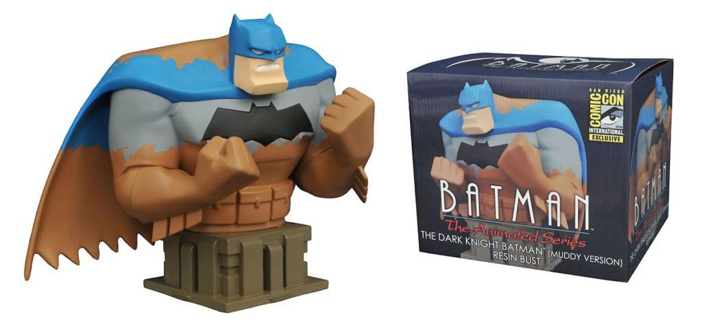 Muddy Batman Bust
