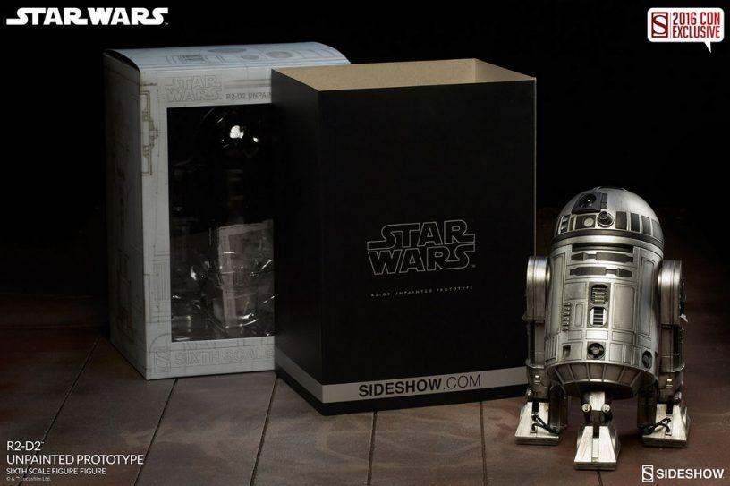 R2 D2 Unpainted