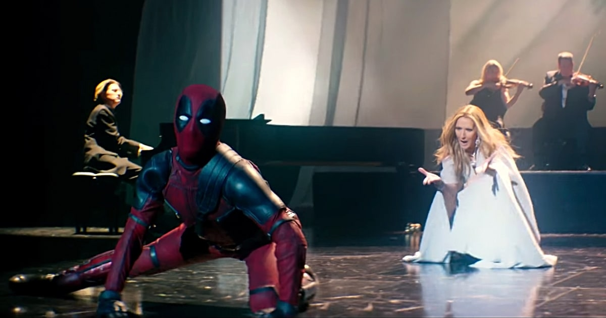 Deadpool and Celine Dion