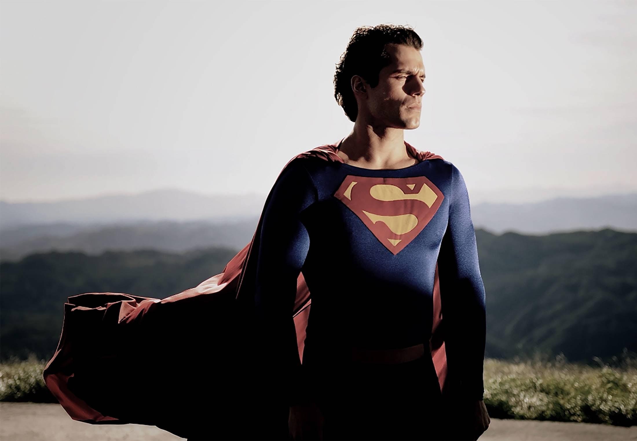 Cavil in Reeve's Superman Suit