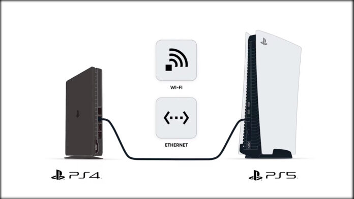PS4 to PS5 Data Transfer